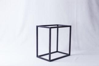 Куб металический черный 250*250*150