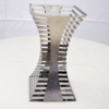 Подставка ребристая из метала (Пирамидальная)  h 600 мм.