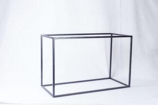 Куб металический черный 250*550*350