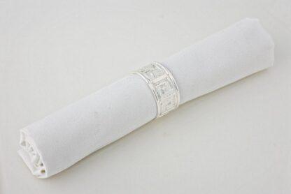 Салфетка белая гостевая 500*500