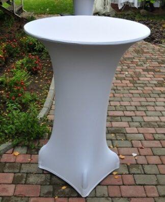Чехол белый для барного стола