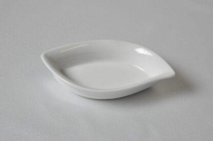 Тарелка фуршетная лепесток 11*6,5
