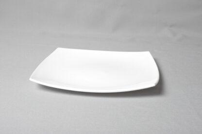 Тарелка квадрат белая 265 х265