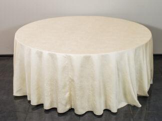Скатерть для круглого стола шампань