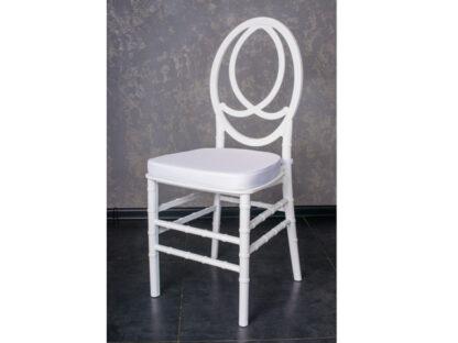 Подушка белая на стул Тиффани/Tiffany