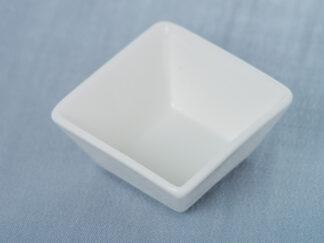 Ложка фарфоровая для фуршета (квадрат)