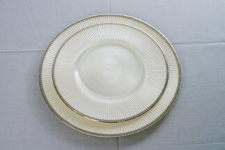 Тарелка основная серая  26,5 см