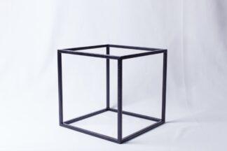 Куб металический черный  250*250*250